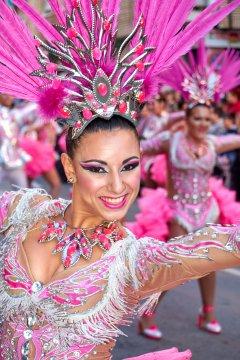 Ballet Oficial de la Federación de Peñas 2019 (en Aguilas)